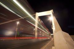 Schneller Verkehr stockfotografie