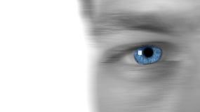 Schnelles Auge stockbild