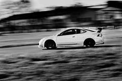 Schnelles Auto Stockbild