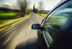 Schnelles Auto Stockfoto