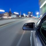 Schnelles Auto Lizenzfreie Stockfotos