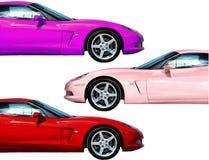 Schnelles Auto-Ansammlung stockbild