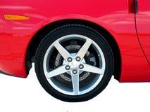 Schnelles Auto-Ansammlung Lizenzfreies Stockbild