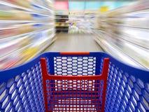 Schnelles Einkaufen Lizenzfreie Stockfotografie