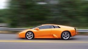 Schnelles exotisches Auto Stockfoto