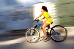 Schnelles Fahrrad Stockfotografie