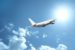 Schnelles Flugzeug Stockfoto