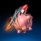 Schnelles Geld Lizenzfreie Stockbilder