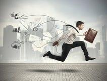 Schnelles Geschäft Lizenzfreie Stockbilder