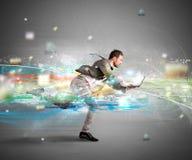 Schnelles Internet-Konzept Lizenzfreie Stockfotografie