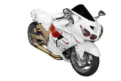 Schnelles Motorrad Lizenzfreie Stockfotos
