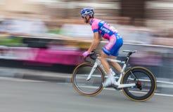 Schnelles Radfahren Stockbilder