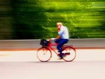 Schnelles Radfahren Stockfotos