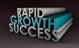 Schnelles Wachstum lizenzfreie abbildung