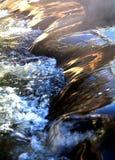 Schnelles Wasser. Stockbild