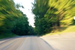 schnellfahren Stockbild