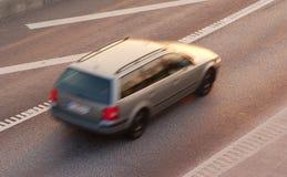 Schnellfahren Lizenzfreies Stockfoto