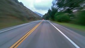 schnellfahren stock footage