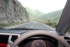 Schnellfahren bei 60 Lizenzfreies Stockfoto