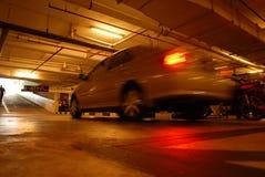 Schnellfahrenauto Lizenzfreies Stockbild