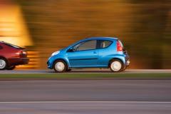 Schnellfahrenautos Stockfotografie