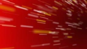 Schnellfahrenpartikel-Rot-Schleife stock video