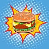 Schnellimbiß Burger Stockfoto