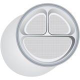 Schnellimbißplatte Lizenzfreie Abbildung