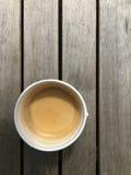 Schnellimbiss-Kaffee stockfoto
