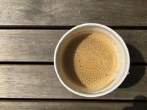 Schnellimbiss-Kaffee stockbilder