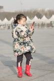 Schnellporträt eines glücklichen Kindes Lizenzfreie Stockfotografie