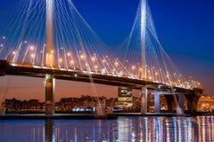 Schnellstraßebrücke lizenzfreie stockbilder