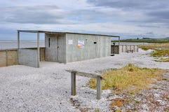 Schnepfen-Fell bei Miranda Shorebird Centre lizenzfreie stockfotos