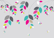Schöner Blumenhintergrund Stockfotografie