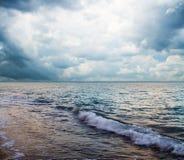Schöner Meerblick Stockfotografie