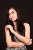 Schönes asiatisches Mädchen Lizenzfreies Stockfoto