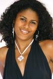 Schönes brasilianisches Mädchen Stockbild