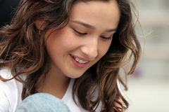 Schönes jugendlich Mädchen Lizenzfreie Stockbilder