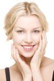 Schönes Mädchen mit hübschem Lächeln Lizenzfreies Stockfoto