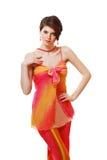 Schönes Mode Mädchen Lizenzfreie Stockfotos