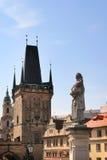 Schönes Prag Stockfoto