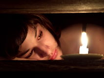 Schönes trauriges Mädchen Lizenzfreie Stockbilder