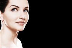 Schönes womans Gesicht Stockfotos