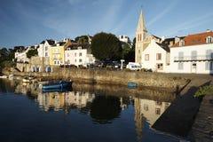 Schönheit ile en-mer in Bretagne Stockbilder