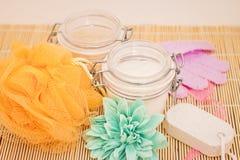 Schönheit und Badekurort entspannende Wellneßbehandlungen Stockbild