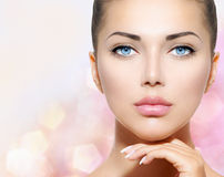 Schönheits-Porträt Stockbild