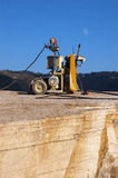 Schnitt des Marmors - Italien Lizenzfreies Stockbild