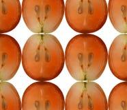 Schnitte der Beeren der Trauben Lizenzfreies Stockbild