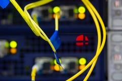 Schnittstelle optischer Zusammenfassung Telekommunikation der Lochkartengeräte verwischte Bild für Gebrauch als Hintergrund lizenzfreies stockbild