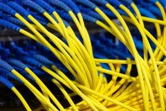 Schnittstelle optischer Zusammenfassung Telekommunikation der Lochkartengeräte verwischte Bild für Gebrauch als Hintergrund stockfotografie